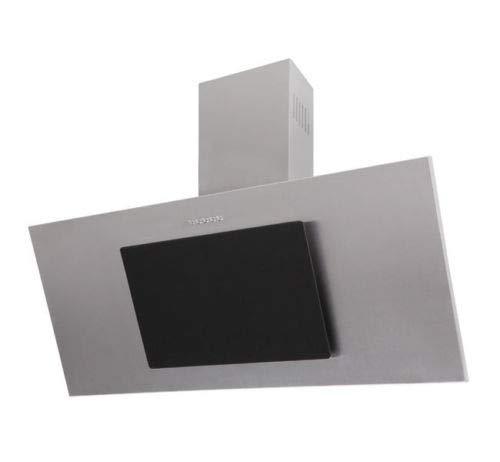 F.Bayer • Dunstabzugshaube 80cm • Abzugshaube • Wandabzugshaube • Abluft/Umluft • 3 Stufen • 500 m³/h • 80 cm • Edelstahl Schwarz Glas •kopffreihaube•Randabsaugung