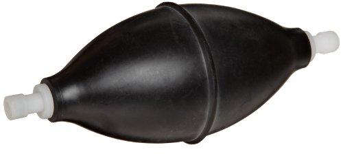 Heathrow Scientific HD20631B Vakuum Saugball, ohne Schlauch, Gummi, 85 mL Fassungsvermögen, Schwarz