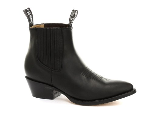 Grinders Maverick Homme Cowboy bottes, noir