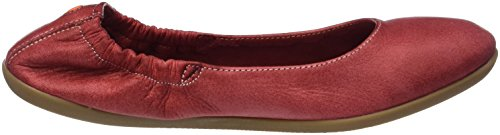 Softinos Ona380sof Washed, Ballerines femme Rot (Red)