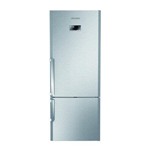 Blomberg KND3880X Kühl-Gefrierkombination A+++, 192 cm, 211kWh/Jahr, 330 L Kühlteil, 124 Gefrierteil, Kühlsystem: NoFrost, edelstahl