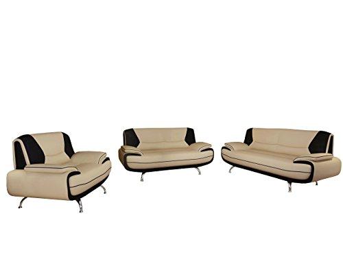Palermo 3+2+1 ! Sofagarnitur ! Sofas Sofa Couch! Große Farbauswahl! Couchgarnitur (D-100 + D-8)