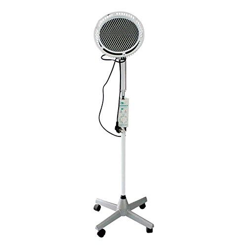 Fuß-behandlungs-system (300W TDP Weit Mineral Hitze Lampe Therapie Akupunktur Licht Fußboden Stehen Art Einstellbar Timer Rahmen Vier Füße Base)
