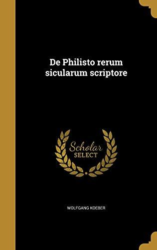 LAT-DE PHILISTO RERUM SICULARU