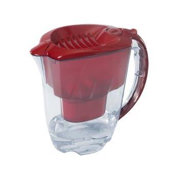 Klin-Tec Pure Water Filterkanne rot inkl. Klin-Tec