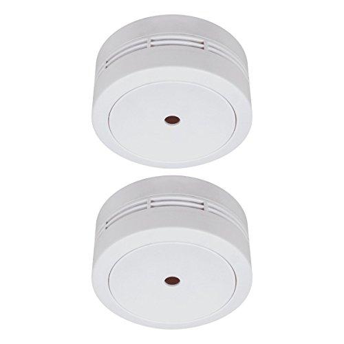 ELRO FS781021 Mini Rauchmelder, 2 Stück, Weiß, 2 Stück