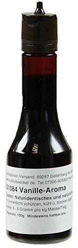 Hobbybäcker Aroma Vanille ► Zur Verfeinerung von Pralinen, Eis, Desserts & Cremes, Natürlich Vanillig, Spritzflasche, 100g (Erdbeer-joghurt-rosinen)