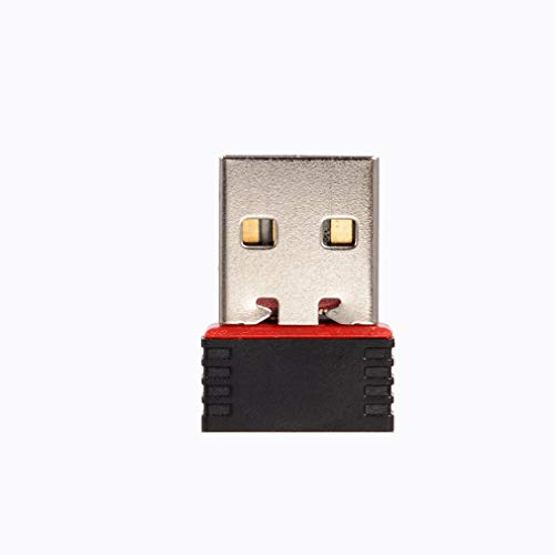 Leoboone 150Mbps USB 150M Mini Tarjeta Red LAN inalámbrica