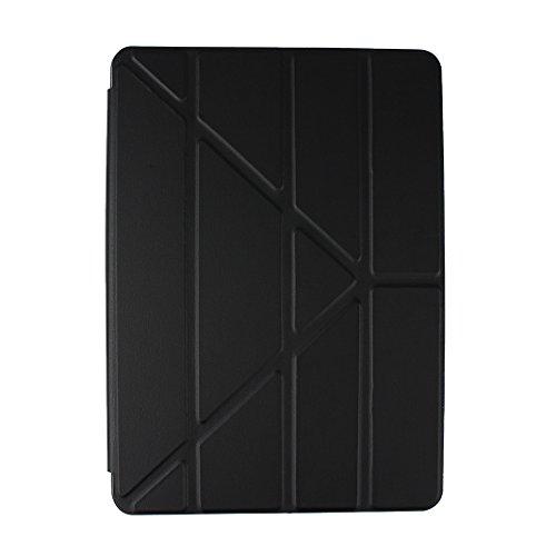 Coque iPad Air 2 Smart Cas,Housse iPad 6 iPad Air 2 Smart Housse Rosa Schleife Ultra Mince TPU Silicone Gel Cas et PU Cuir Case Coque etui de Protection Bumper Arriere Cover avec Support Stand pour 9.7\