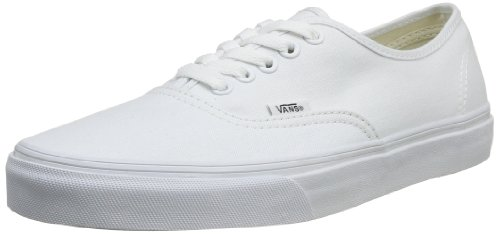 Vans Authentic, Sneaker Unisex Adulto, Bianco (True White W00), 42.5