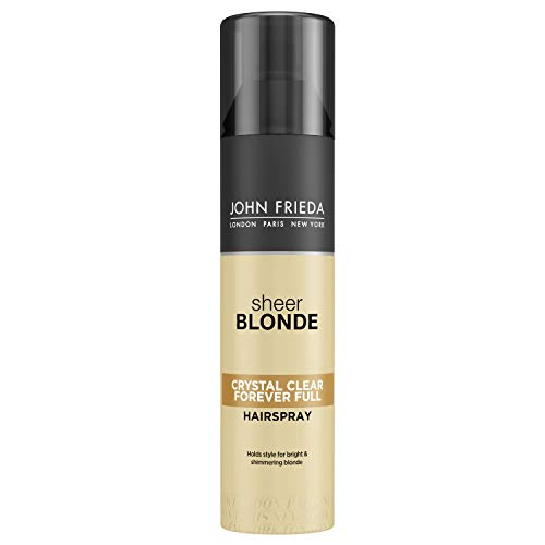 John Frieda Sheer Blonde Crystal Clear Hairspray 250ml by John Frieda -