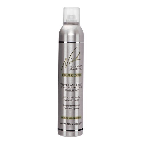 Nick Chavez Velvet Mesquite Hydrating Thickening Hairspray 10 oz by Nick Chavez (Hydrating Hairspray)