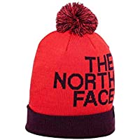 The North Face Ascentials TNF Gorro, Unisex adulto, Rojo (Fiery Red/Fig), Talla única