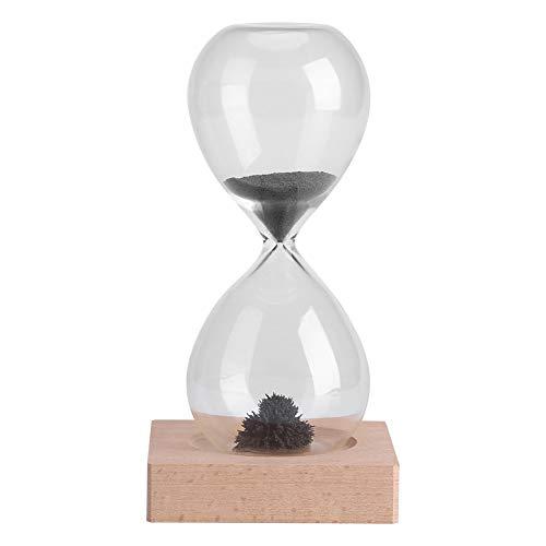 GLOGLOW Contador de Tiempo magnético de la Arena, Reloj de Arena clásico Juguete Artistic Tea Timer...