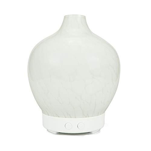TTZ Glasätherisches Öl-Diffusor-kühle Nebel-Befeuchter mit wasserloser Selbstabsperrung für Yoga-Büro-Badekurort-Schlafzimmer, Baby-Raum 7 Bunte LED (Color : C) (Diffusor Und Sound-maschine)