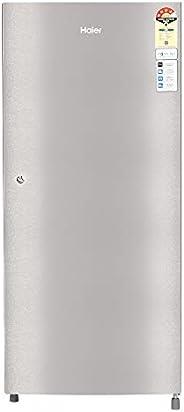 Haier 195 L 4 Star Direct-Cool Single Door Refrigerator (HRD-1954CTS-E, Titanium Steel)
