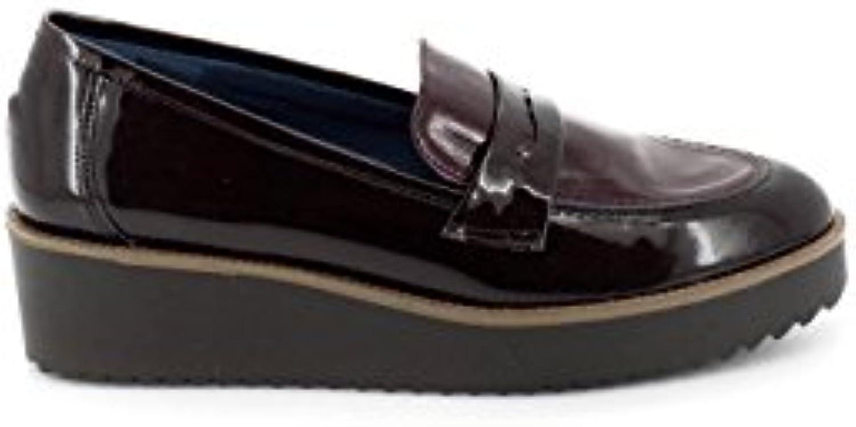 Dliro Brown Leder Mokassin 32-9017 2018 Letztes Modell  Mode Schuhe Billig Online-Verkauf