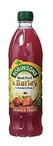 Robinsons Fruit and Barley Summer Fruits Squash No Added Sugar (1 L)