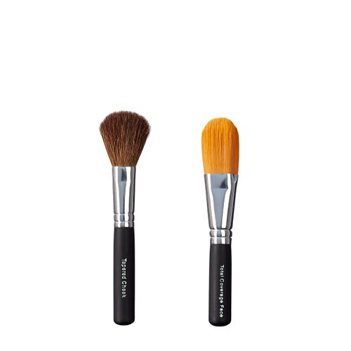 ON & OFF Cheek cónicos y Total Cobertura Face Brush Duo, 1er Pack (1 x 0,25 L)