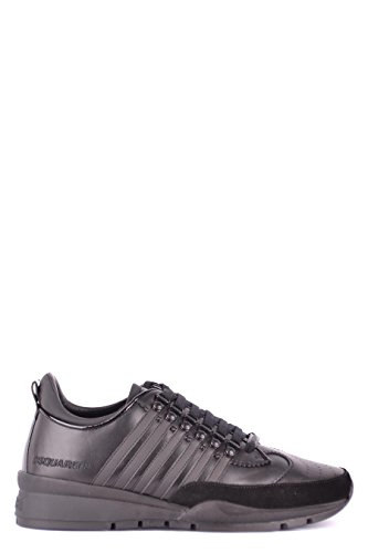 DSQUARED2 Herren Snm010111570001m084 Schwarz Leder Sneakers