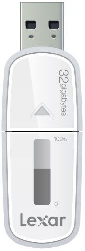 Lexar JumpDrive M10 32GB Secure USB 3.0 Flash Pen Drive with Capacity Meter, High Speed