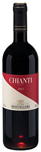 Chianti-wein-flasche (Fattoria Montellori Chianti DOCG 2013 trocken (0,75 L Flaschen))