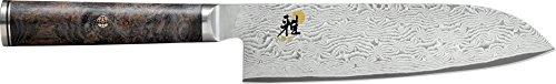 MIYABI Santokumesser, Edelstahl, Mehrfarbig, 31 x 3 x 6 cm