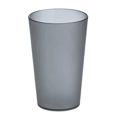 koziol RIO transparent anthrazit Becher 300ml, Thermoplastischer Kunststoff, 7.3 x 7.3 x 11.5 cm