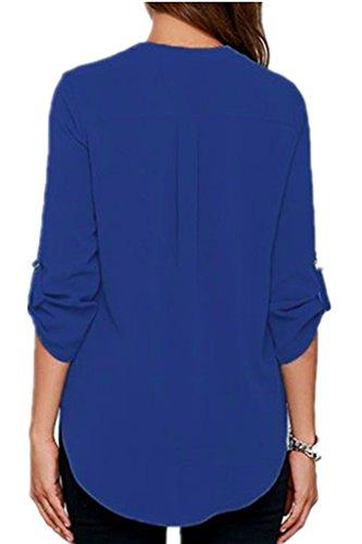 ASCHOEN - Camicia - Maniche lunghe  -  donna Blau