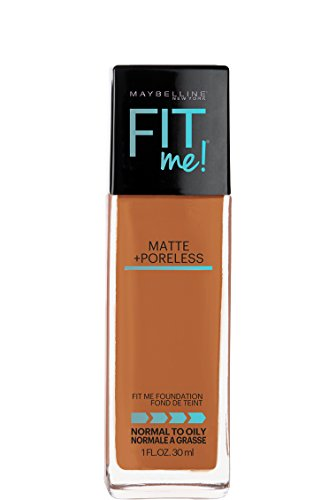 Maybelline New York Fit Me! Matte + Poreless Foundation, Coconut [355] 1 oz by Maybelline