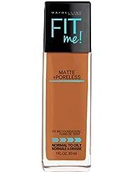 Maybelline Fit Me Matte et le Fond de Teint Poreless - Noix de Coco