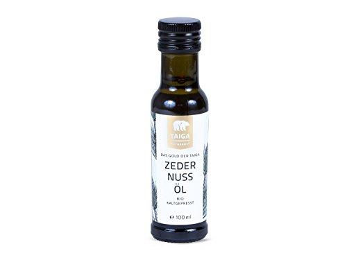 Taiga Naturkost - Zedernuss-Öl bio kaltgepresst (100 ml) - von Robert Franz empfohlen
