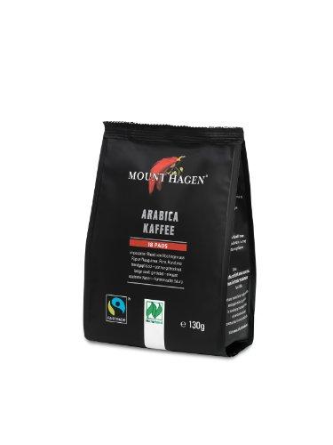 Mount Hagen Kaffee-Pads FairTrade, 5er Pack (5 x 130 g)