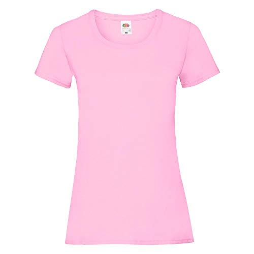 Fruit of the Loom - Lady-Fit Valueweight T - Modell 2013 L,Light Pink