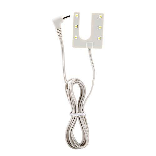 Luz costura, lámpara mesa forma U, lámpara trabajo