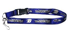 Caseys Verteilen 5717516789 Baltimore Ravens Breakaway Lanyard mit Schl-sselring