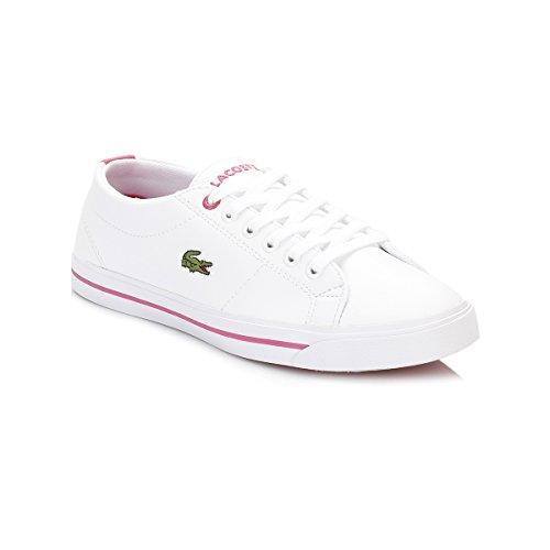Lacoste Junior Bianco/Rosa Marcel 117 1 CAJ Sneaker Bianco/Rosa