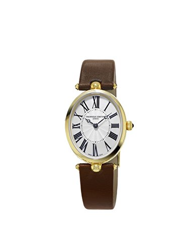 Frederique Constant Women's Analogue Quartz Watch with Leather Strap FC-200MPW2V5