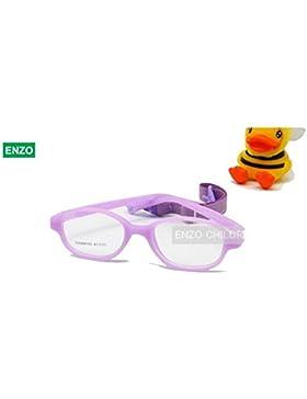 enzodate gafas para los niños, tamaño 41, Óptico, con rosca y asiento de una sola pieza para bebé seguro con cordón...