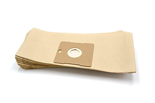 vhbw 10 sac paper pour aspirateur robot aspirateur multi-usages Satrap Aspira Mouse 1500, Mousy Class 1300
