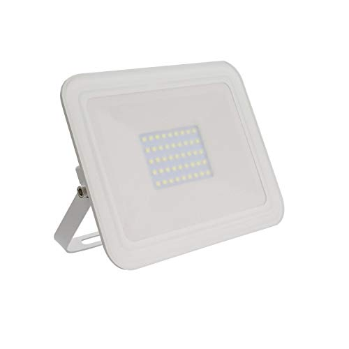 Foco Proyector LED Slim Cristal 30W Blanco Blanco Frío 6000K-6500K
