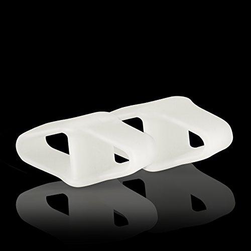 Blissany Zehenspreizer (Softgel Silikon|2 Stück) – Zur Vorbeugung und Linderung von Hallux Valgus und anderen Fehlstellungen der Zehen