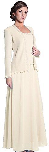 Brautkleid Standesamtkleid Hochzeitskleid lang schlicht Ärmel