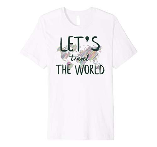 0f027061 Wanderlust world traveler t-shirts al mejor precio de Amazon en ...