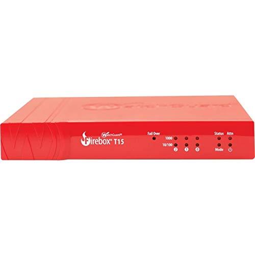 WatchGuard Firebox WGT15 - Cortafuegos (400 Mbit/s, 150 Mbit/s, 160 Mbit/s,  51 BTU/h, 129955 h, WEEE, RoHS, ICSA, NRTL/C, CB)