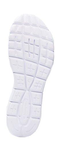 Champion Low Cut Shoe ALPHA, Chaussures de Running Compétition femme Schwarz/Anthrazit/Cool Grey/Weiß