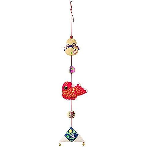 Hamanaka crepe kit de serie del patroen de impresioen ornamentos colgantes H409-009 auspicioso Disenado por Katsuko