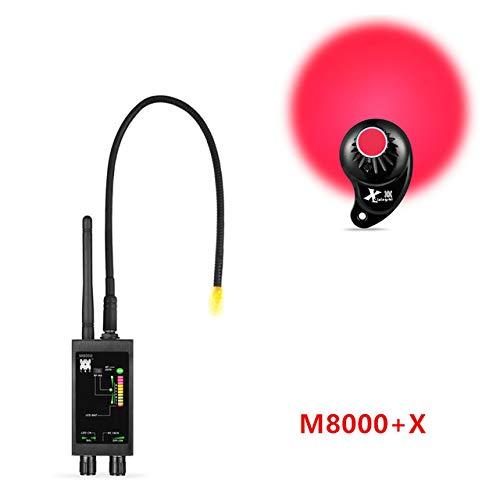 EPTEK@Detector de Sensor de imán Oculto + 1 MHz-12 GHz Detectores de señal espía inalámbricos Detector de Errores RF Detector de Lentes Buscador de rastreadores GPS