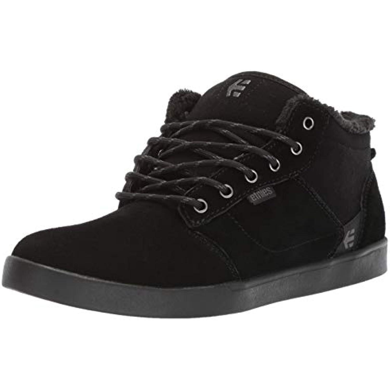 Etnies Jefferson Mid Chaussures de Skateboard pour Noir Homme Bleu 46,5 - Noir - Noir pour Noir, 39 - B0791WFDYN - a0a6a3