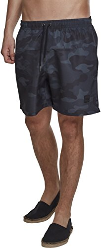 Urban Classics Camo Swimshorts, Short Homme